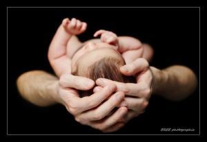 Photographe naissance, bébé, portrait