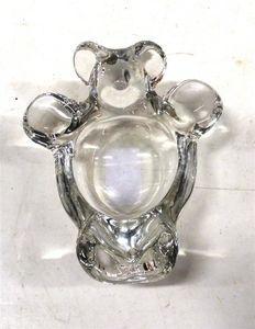 Cendrier en cristal de Vannes