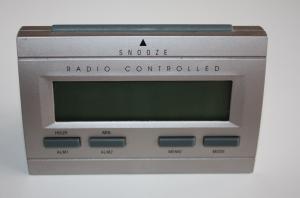 Horloge Reveil Radio-controled Europe WT-87