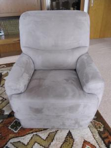 Canapé d'angle + fauteuil