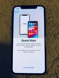 Apple iPhone X d'occasion - 256 Go - Argent (Débloqué)