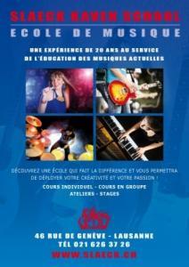 Cours de musique Lausanne piano guitare