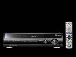 Panasonic Receiver noir SA-XR55EG-K 7x 1