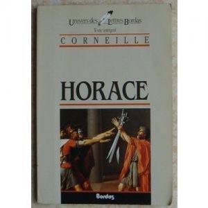 Horace de Corneille Lettres Bordas