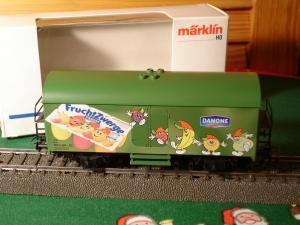 "Marklin HO 44177 wagon DB frigorifique ""Danone"""