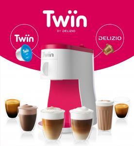 Machine à café à capsule Delizio