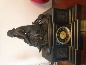 Pendule Bronze Pierre Alexandre Schoenewerk