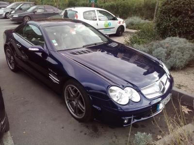 Mercedes SL 65 amg 2004
