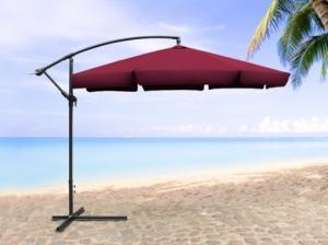 Parasol, ombrelle, écran en métal Beige