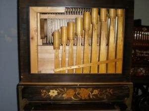 Orgue de barbarie Holl avec 3 cylindres