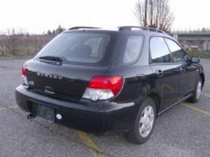 Subaru Impreza 1.6TS break 4WD noir 2004, 144'000 km, 4950.-