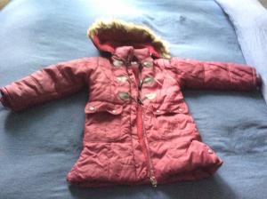 Veste d'hiver longue fille Taille 6 ans