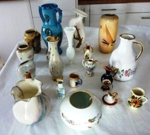 porcelaine -  petits objets -vases
