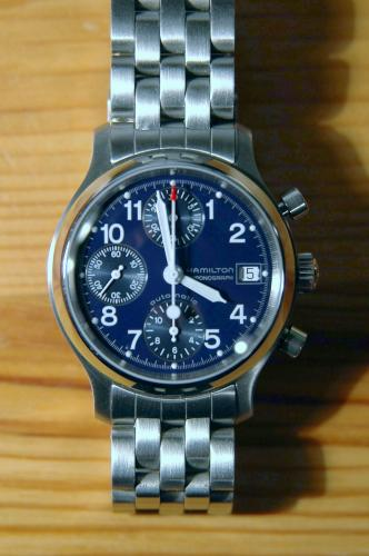Chronographe automatique Hamilton