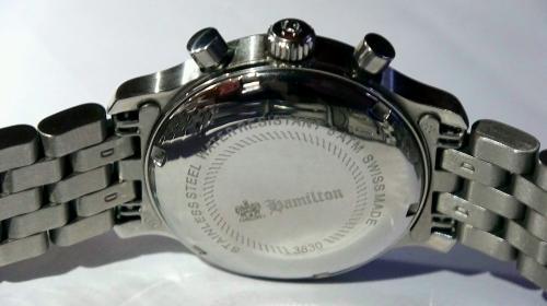 Chronographe automatique Hamilton