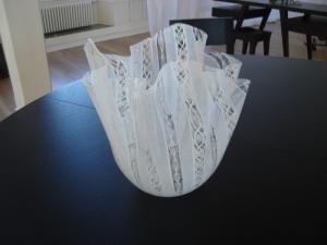 Vase en verre soufflé VENINI