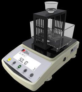 Densitomètre pour tester les plastiques et les fluides