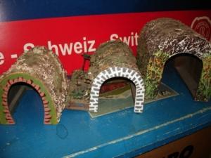 Tunnels HO pour maquette ou autres