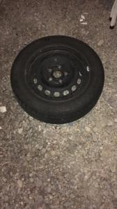 4 pneus hiver 185/65 R15 T