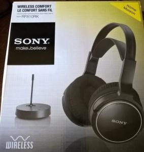 Sony casque sans fil RF810 RK