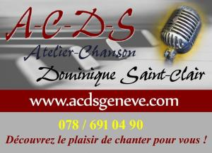 Cours de chant ACDS Genève