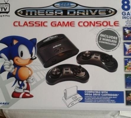 Console Mega Drive Mini