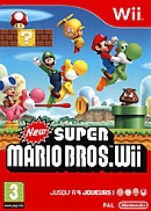 New Super Mario Bros sur Wii