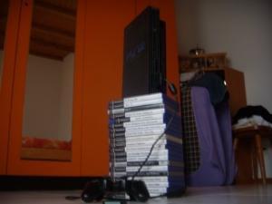 PS2 + 1manette + 1memory-card + 20 jeux