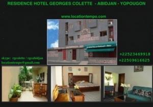 Residence Hotel- Abidjan Georges-colette