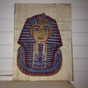 Tableau papyrus Sphynx d