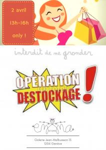 Opération Déstockage: jusqu'à - 70%!