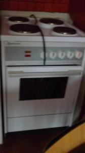 Cuisiniere complete 4 plaques électrique