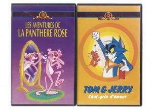 Nombreuses K7 - cassettes video (VHS)