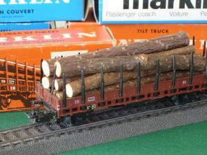 Märklin HO 4608 (313/2H) wagon à rancher