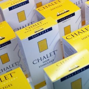 Chalet Softgels - Forfait de Stimulant pour Cheveux - 6 Mois