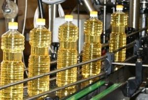 Huile de palme et huile de tournesol