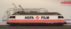 """Märklin HO 83463 """"Agfa film"""" delta dig"""