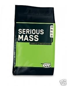 Gainer : Serious Mass 5,45Kg Optimum