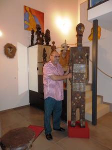 Art Africain sarcophage NGATA du Congo