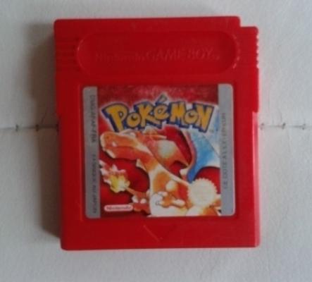Pokémon Rouge  sur Gameboy