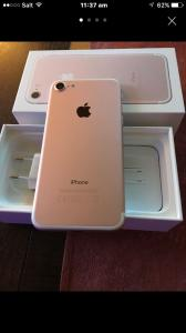 iphone 7 plus 128 gb or rose