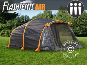 Campingzelt FlashTents® Air, 3 Personen, orange/dun