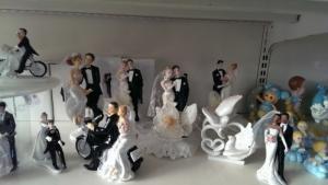 Figurines: mariage, baptême et communion