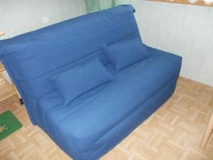 banquette lit bleu a vendre