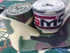 bandage de boxe pour muay thai mma