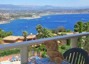 Vue Mer panoramique, Piscine,Côte d'Azur