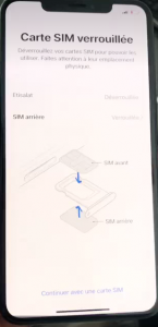 Iphone xs max double carte sim