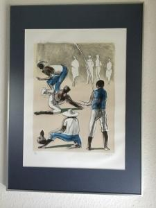 Litho. de Carybé peintre contemporain