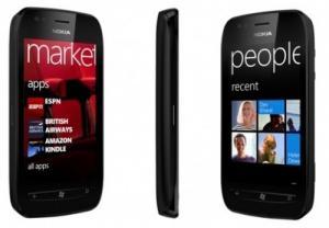 Nokia Lumia 710 noir - neuf