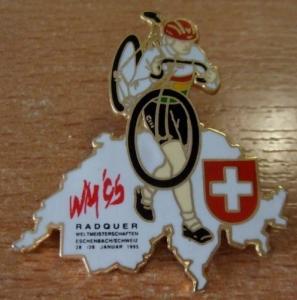 Pin´s velo WM 95 Radquer